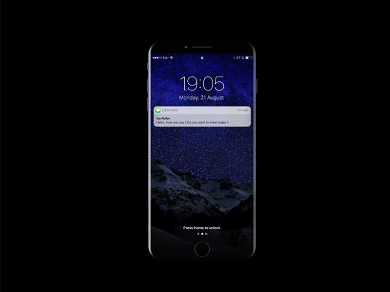 iPhone 8 Mockup Concept preview picture