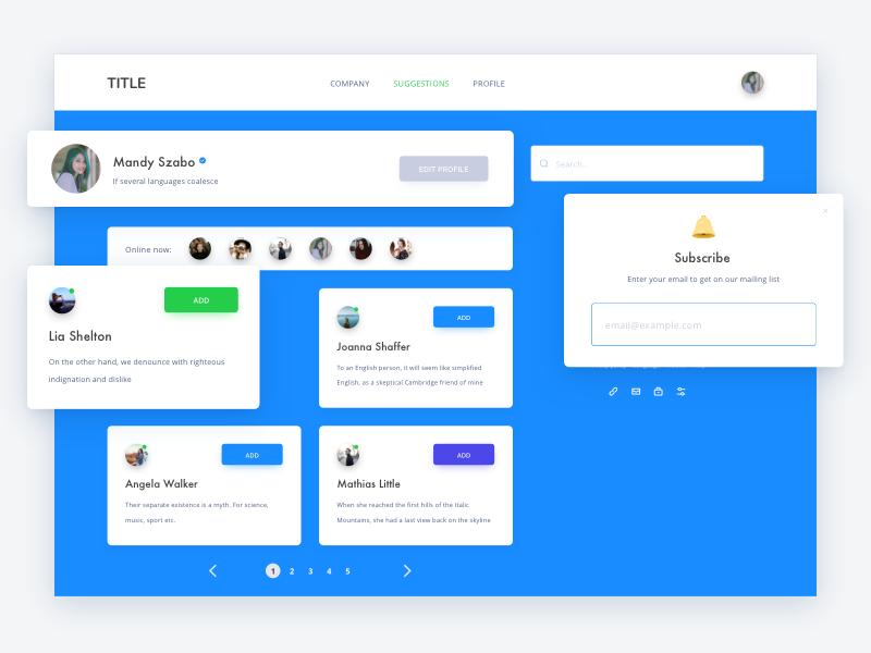 Creative Elements UI Kit