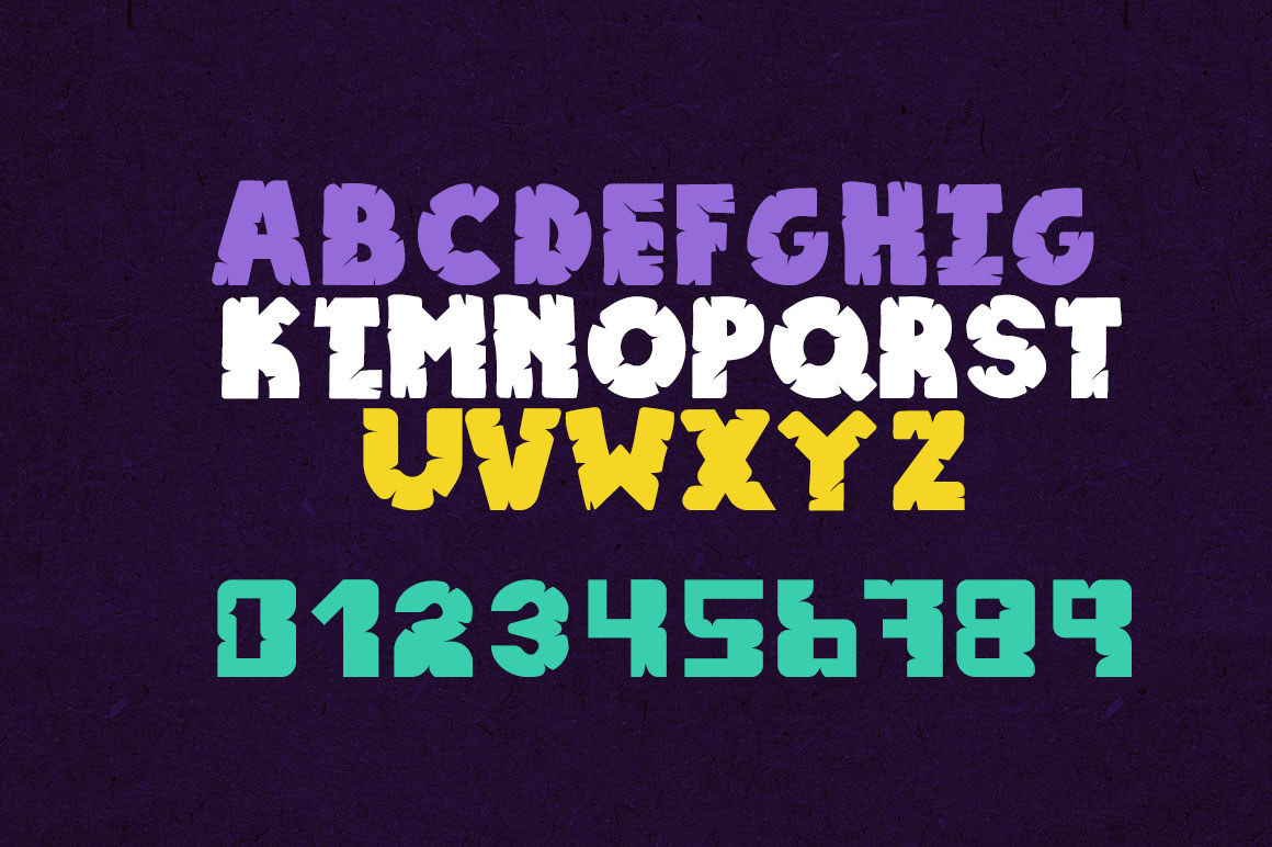 Epicave All Caps Display Free Font