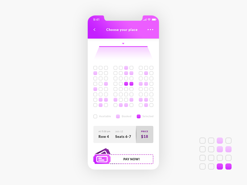 Cinema Tickets App preview picture