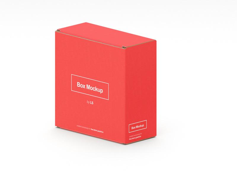 7 Box Mockups