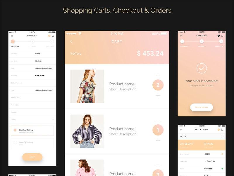 Modda E-commerce UI Kit