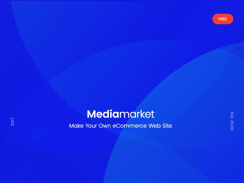 Mediamarket – FREE Electronics eCommerce PSD Template