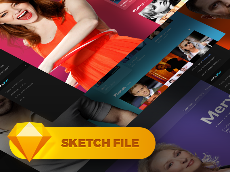 IMDb Concept Page [Sketch] preview picture