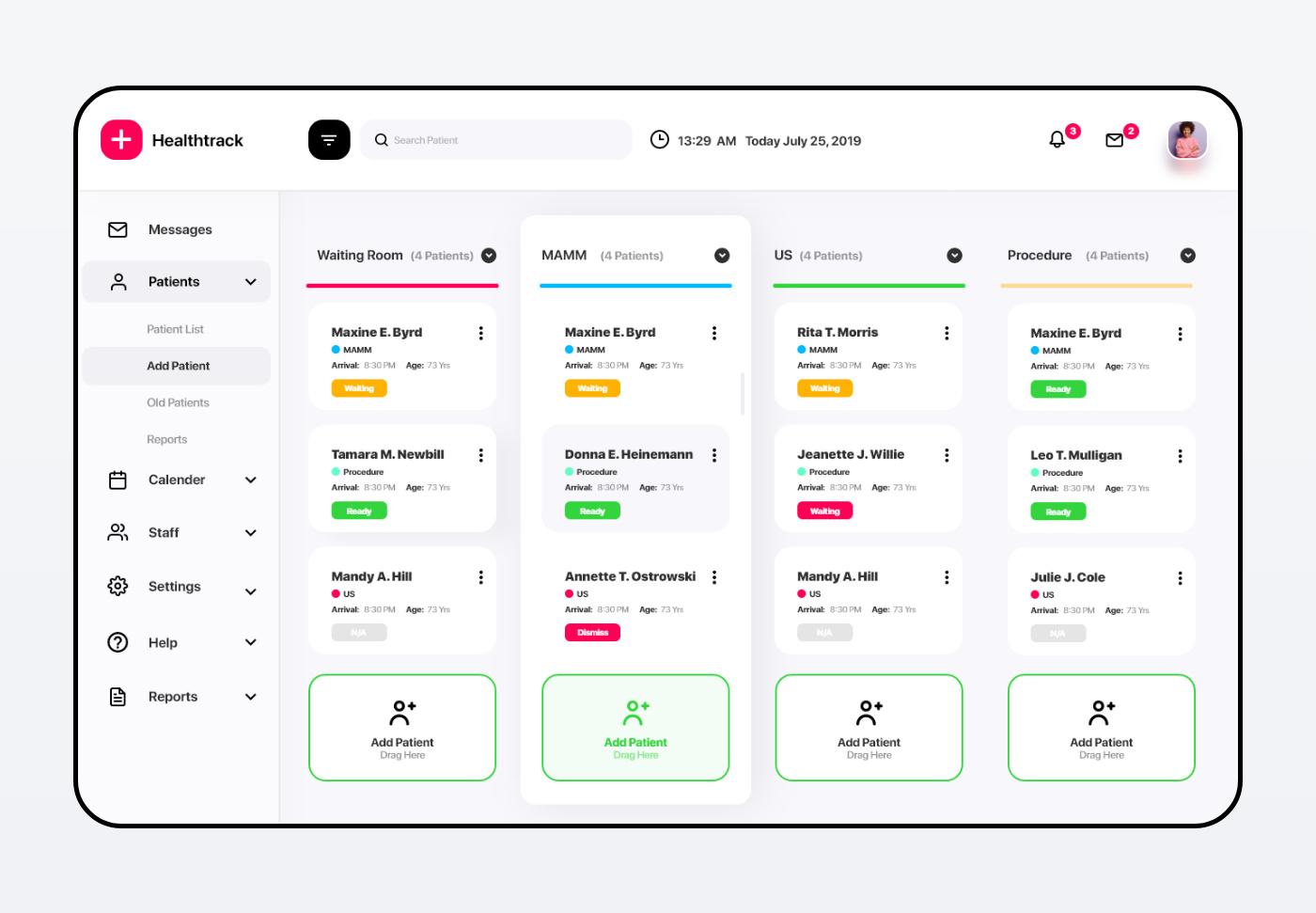 Healthtrack Desktop App