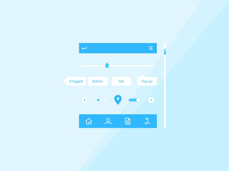 Components UI kit preview picture