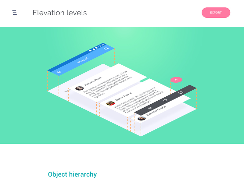 Elevated Elements Webpage preview picture