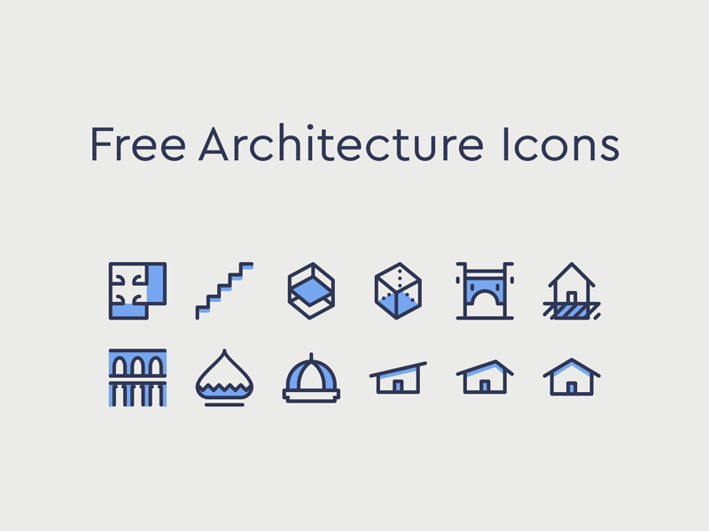 Architecture Icons preview picture