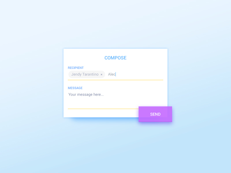 Text Composing Widget preview picture