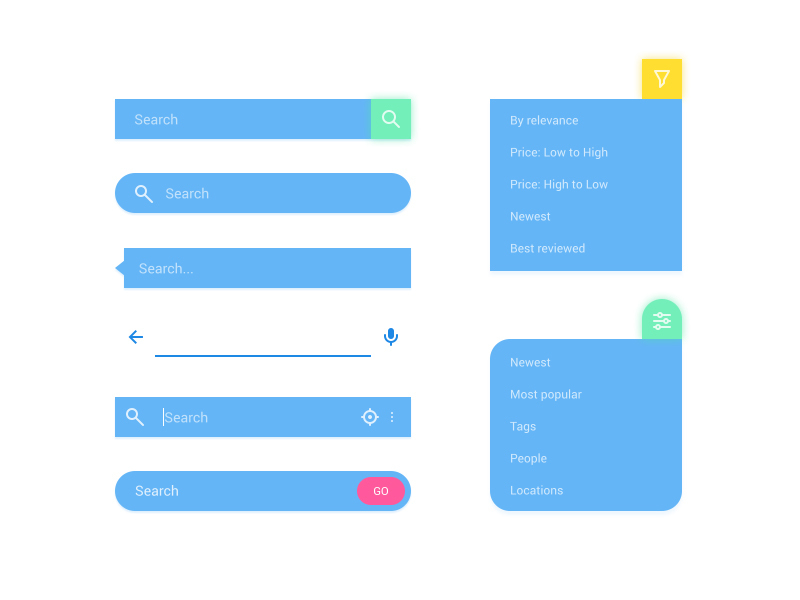 Search Bars Kit preview picture