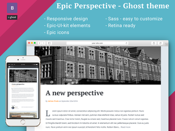 Epic-Perspective Ghost theme