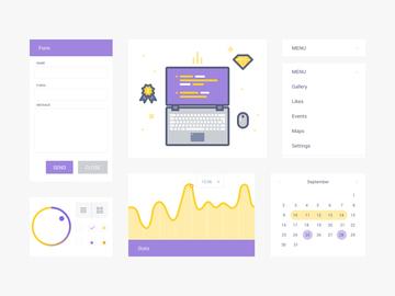 UI Kit & Illustration
